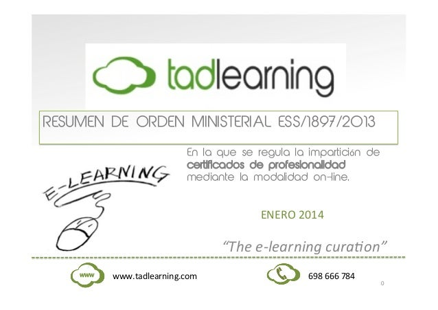 Cert profesionalidad tad learning 300114