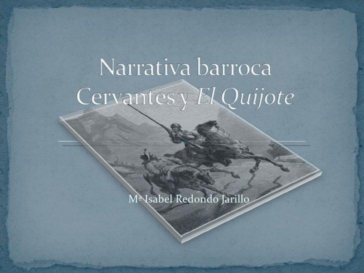Cervantes y quijote. presentación de aula