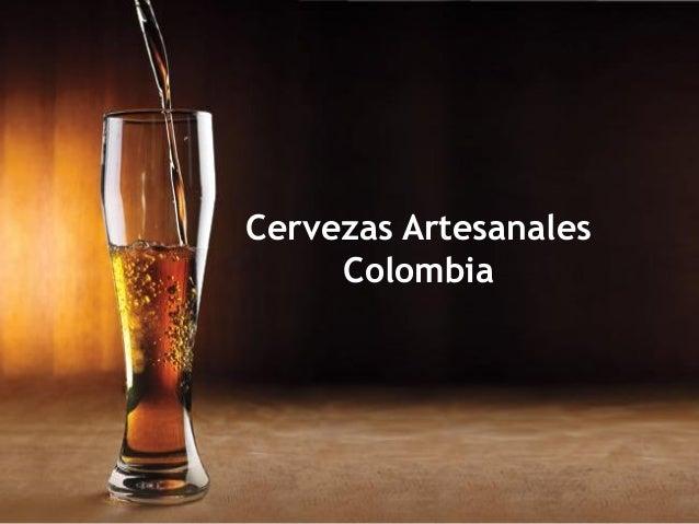 Cervezas Artesanales Colombia