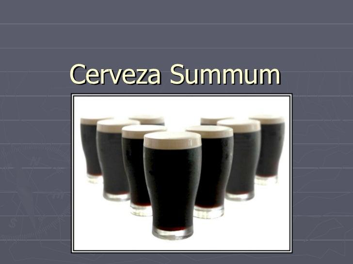 Cerveza Summum