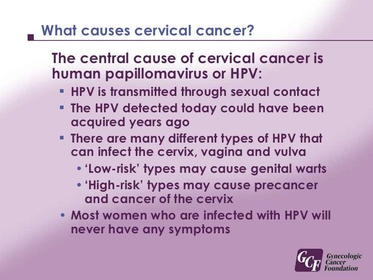 Cervical Cancer Causes Causes Cervical Cancer Myths