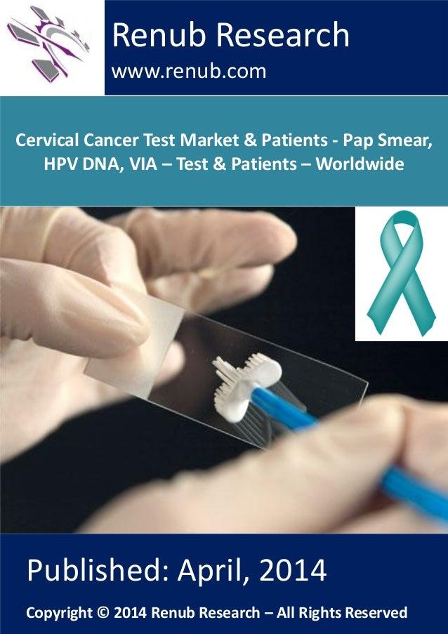 Cervical Cancer Test Market & Patients - Pap Smear, HPV DNA, VIA – Test & Patients – Worldwide Renub Research www.renub.co...