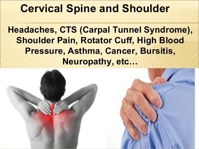 Cervical spine and shoulder problems