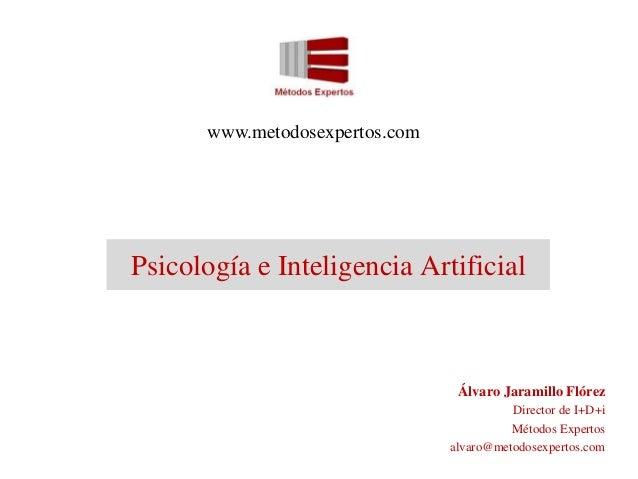 Psicología e Inteligencia Artificial