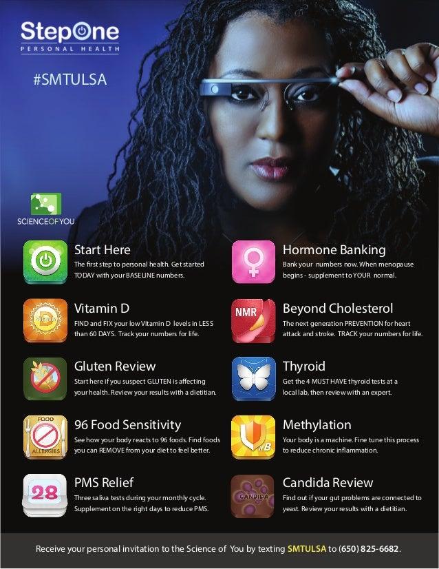 StepOne Health Digital Health Invitation for #SMTULSA