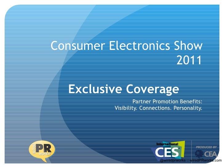 CES | Consumer Electronics Show 2011 | Barbara Rozgonyi