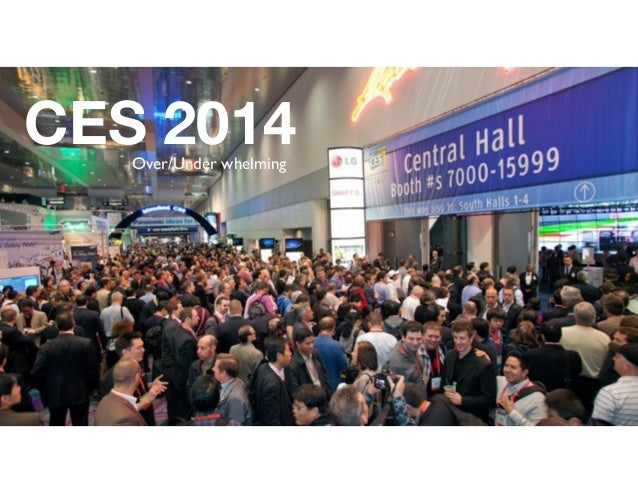 CES 2014 Over/Under whelming  1