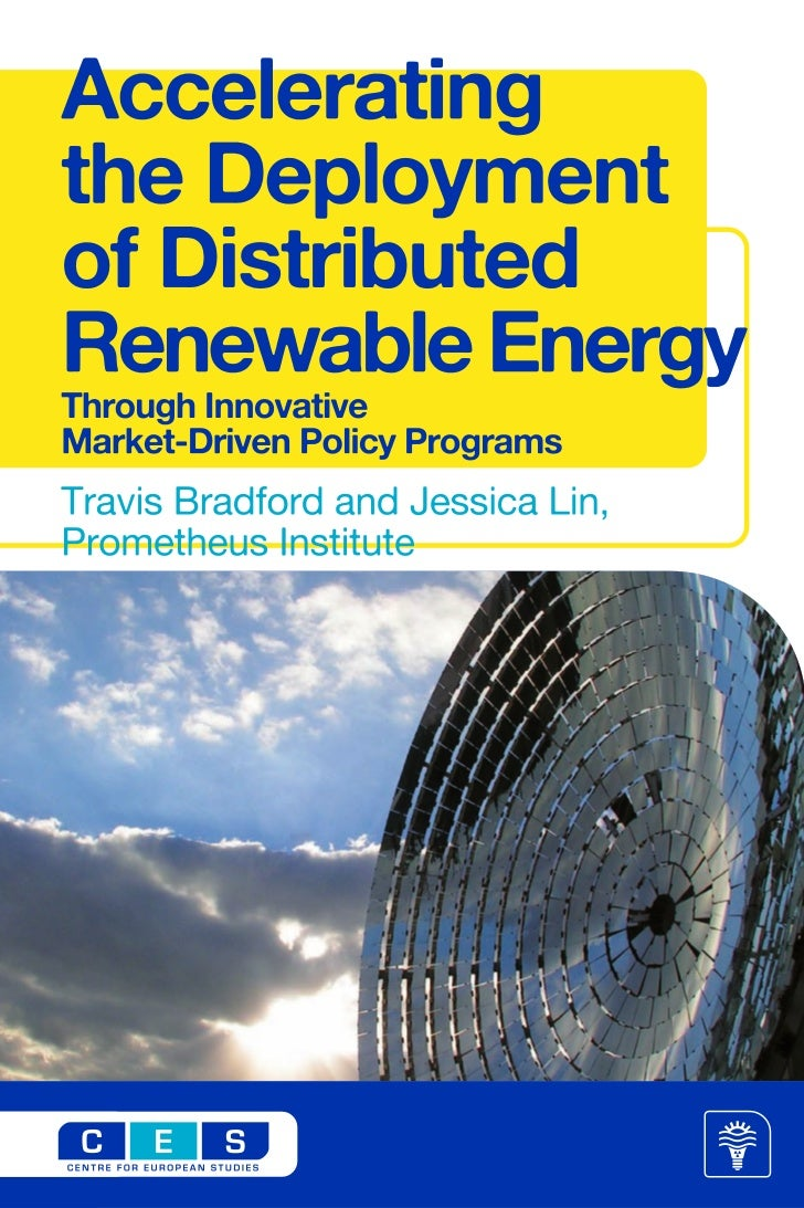 Accelerating the Deployment of Distributed Renewable Energy