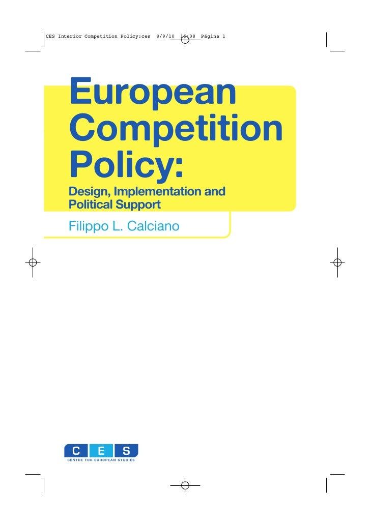 CES Interior Competition Policy:ces   8/9/10   16:08   Página 1