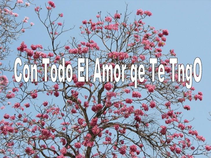 Con Todo El Amor qe Te TngO