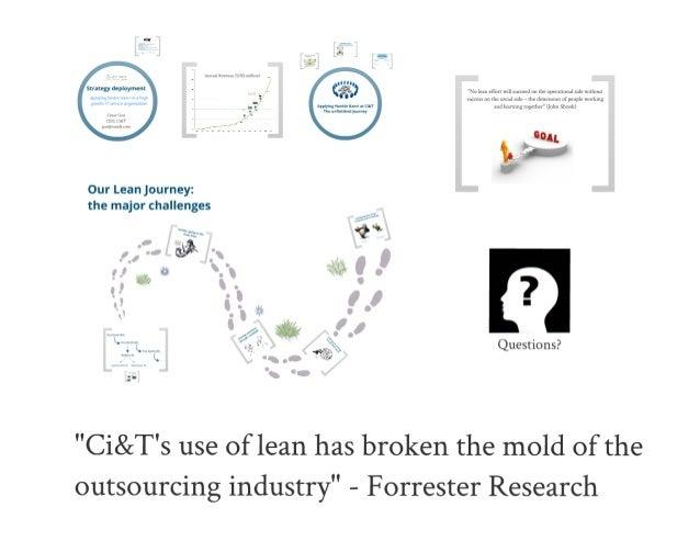 Cesar Gon on Hoshin Kanri at European Lean IT Summit 2012