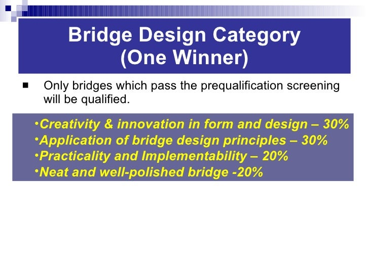 Principles Building Bridge Bridge Design Principles