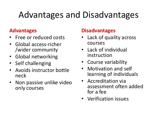 advantages and disadvantages of love to students academic Free essays on advantages and disadvantages of internet for  even high school students do drugs in order to enhance their performance in academic.