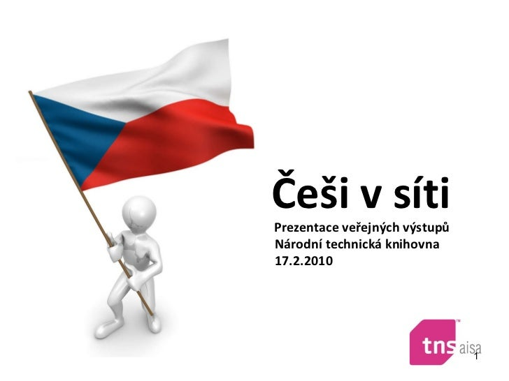 Češi v síti Prezentace v eřejných výstupů  Národní technická knihovna 17.2.2010