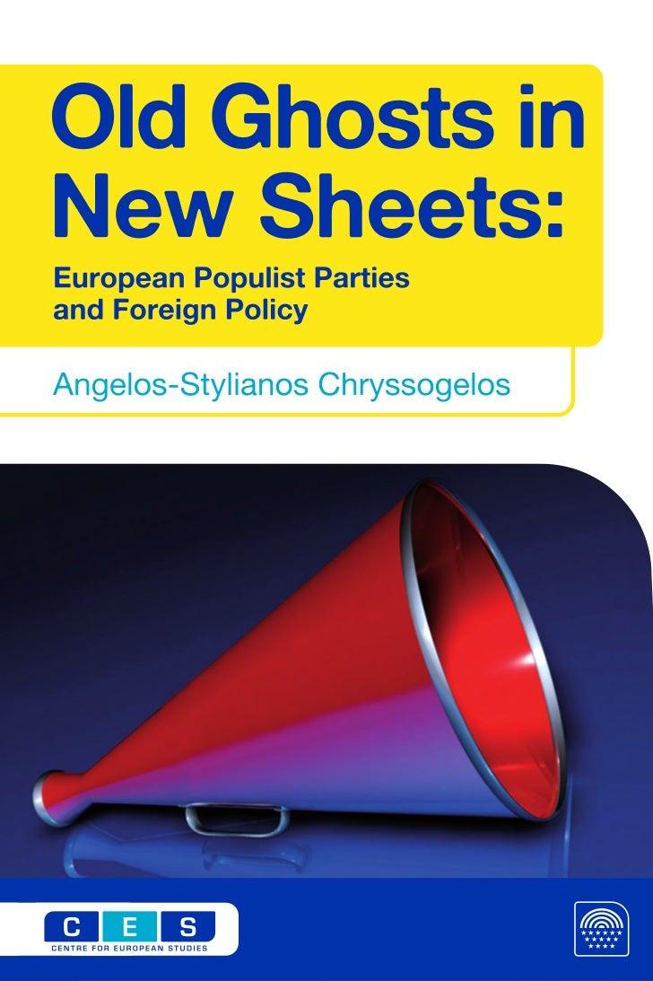 CREDITSCentre for European StudiesDesign: RARO S.L.Printed in Brussels by Drukkerij Jo VandenbulckeBrusselsCentre for Euro...