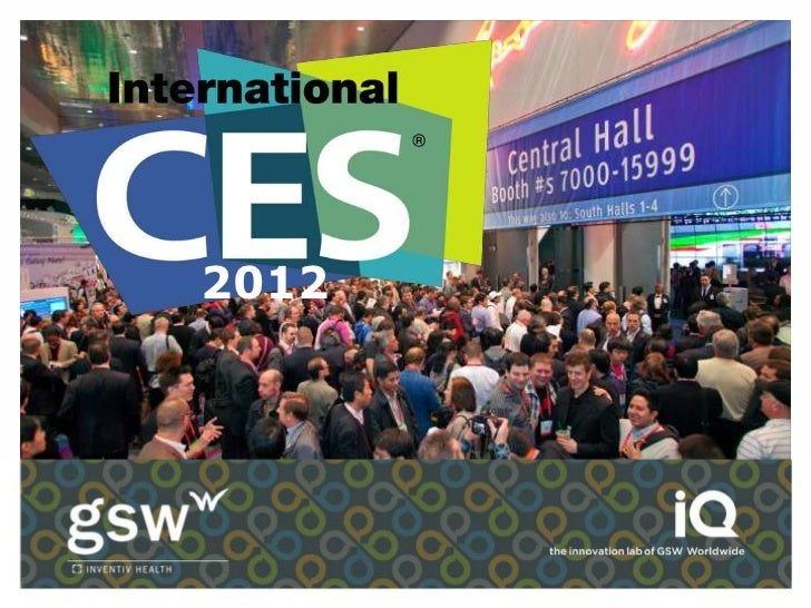 Recapping CES 2012