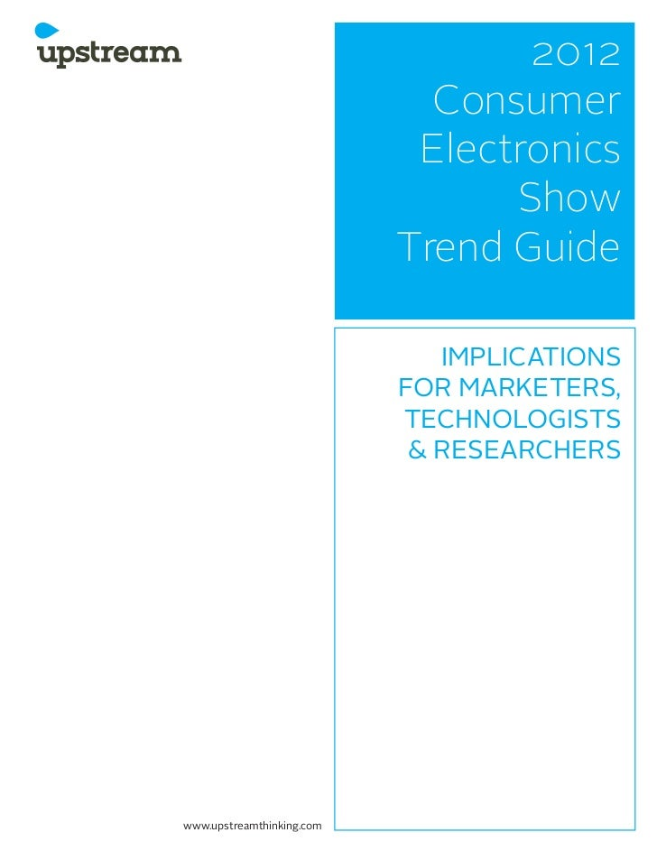 2012 Consumer Electronics Show Trend Guide