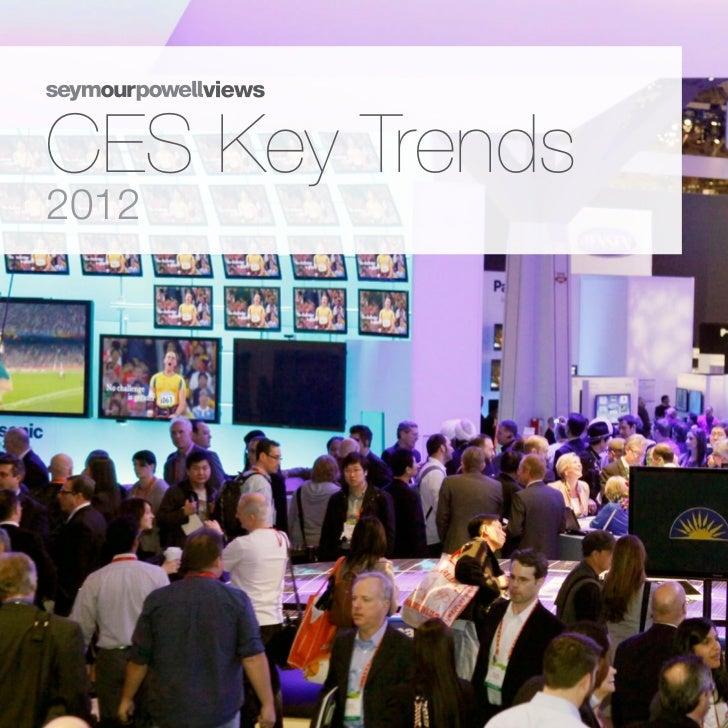 CES Key Trends 2012