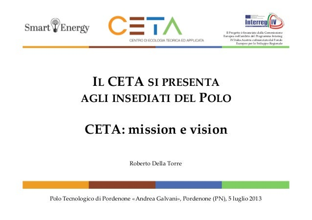 Ceta: Mission and Vision