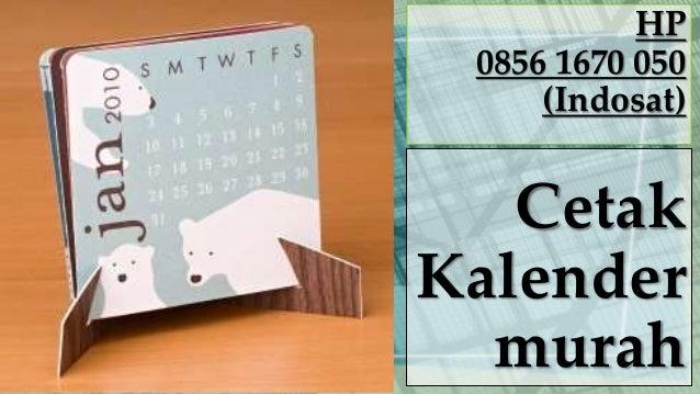 Cetak Kalender Satuan Murah Pusat Pembuatan Souvenir Online