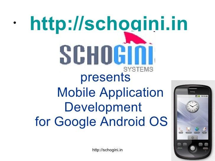 Google Android Exhibition Slides Jan 29-Feb 2, 2010