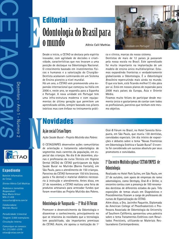 CETAOnews                                               E                                                   Editorial     ...