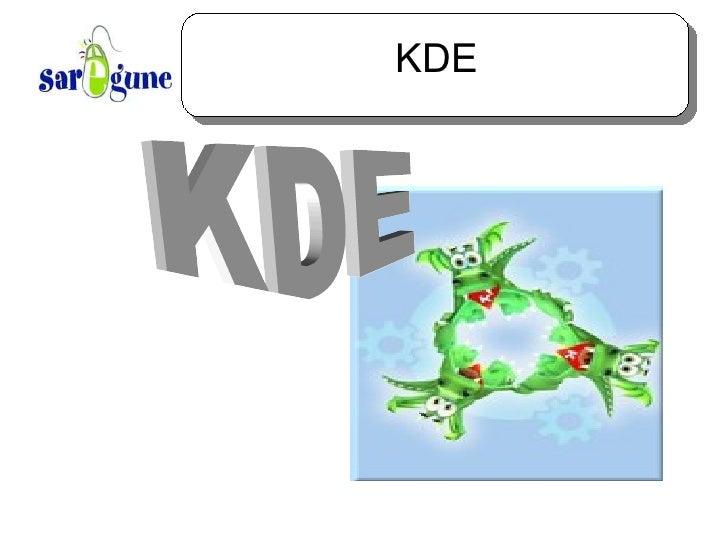 KDE KDE