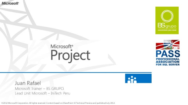 MS Project 2013 preview