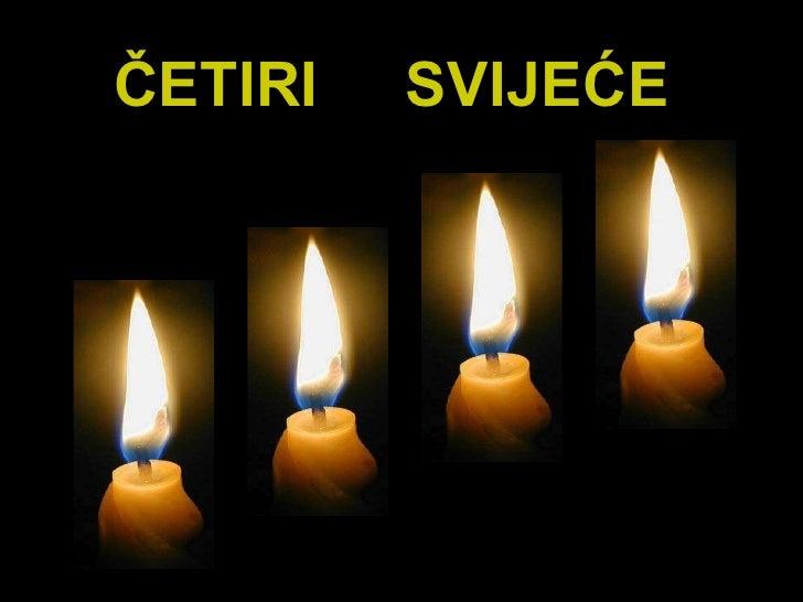 Cetiri svijece