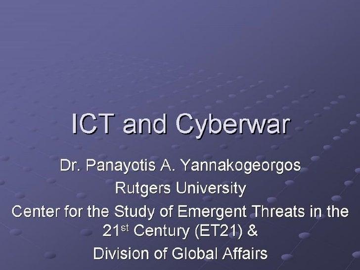 Cetmons Cyberwarfare