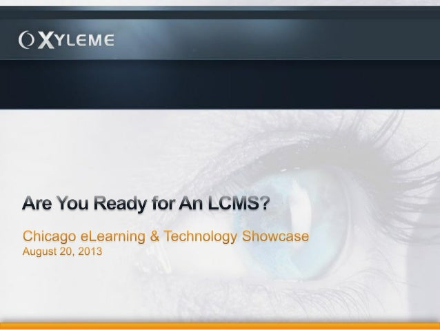 Cets 2013 grossman are you ready for an lcms