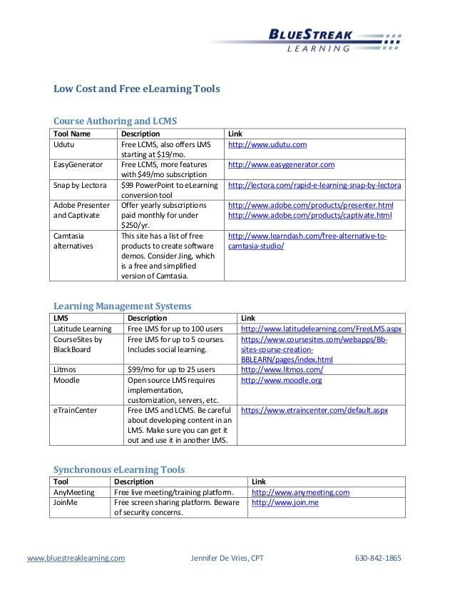 Cets 2014 devries free cheap tools list