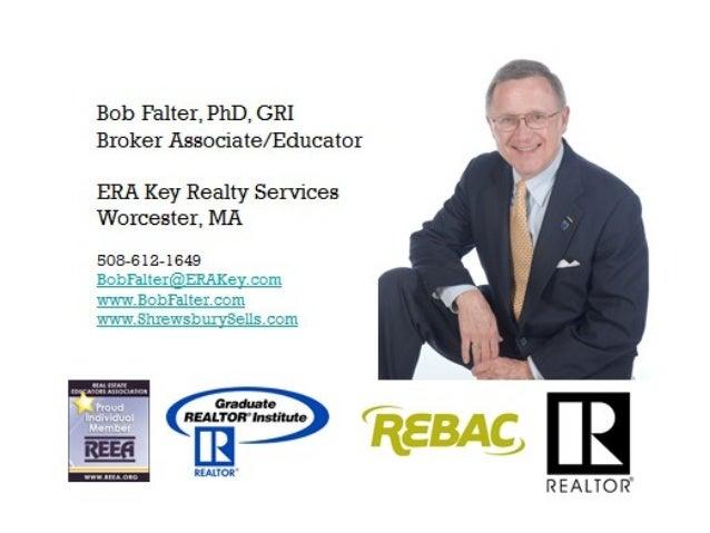Dual Agency in Massachusetts Bob Falter, Ph.D. GRI, ABR, SRES, e-PRO, LMC, SFR, BPOR Produced by Paula K. Savard