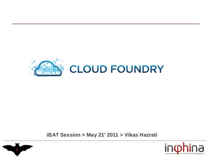 Cloud Foundry Impressions