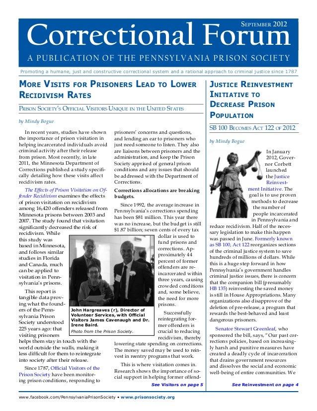 September 2012 Correctional Forum   Correctional Forum                                                                   ...