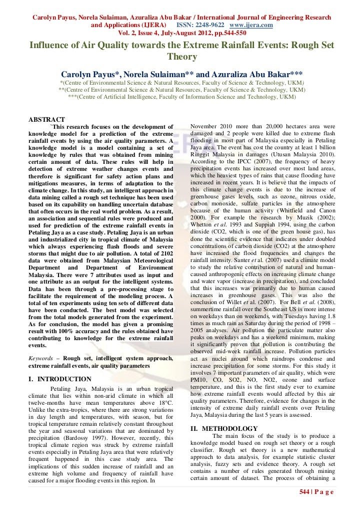 Carolyn Payus, Norela Sulaiman, Azuraliza Abu Bakar / International Journal of Engineering Research                    and...