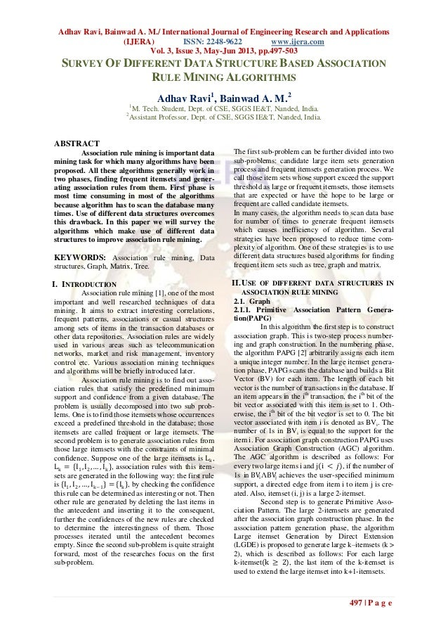 Adhav Ravi, Bainwad A. M./ International Journal of Engineering Research and Applications(IJERA) ISSN: 2248-9622 www.ijera...