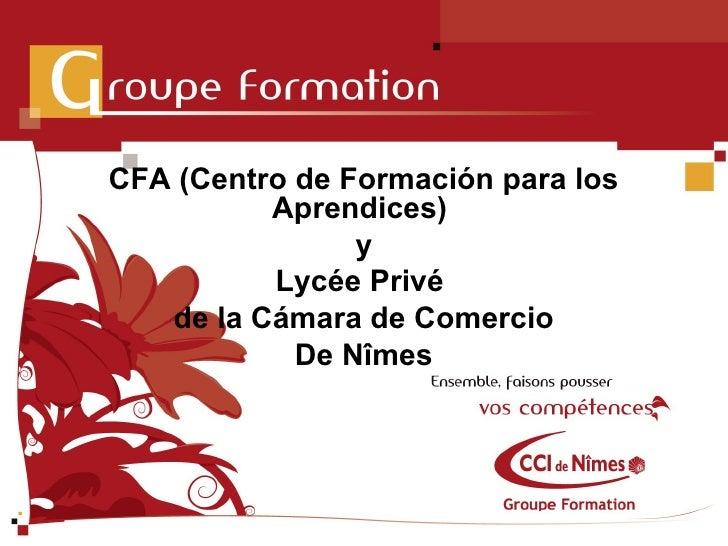 Cfa and lycée privé cci   presentation en español v2
