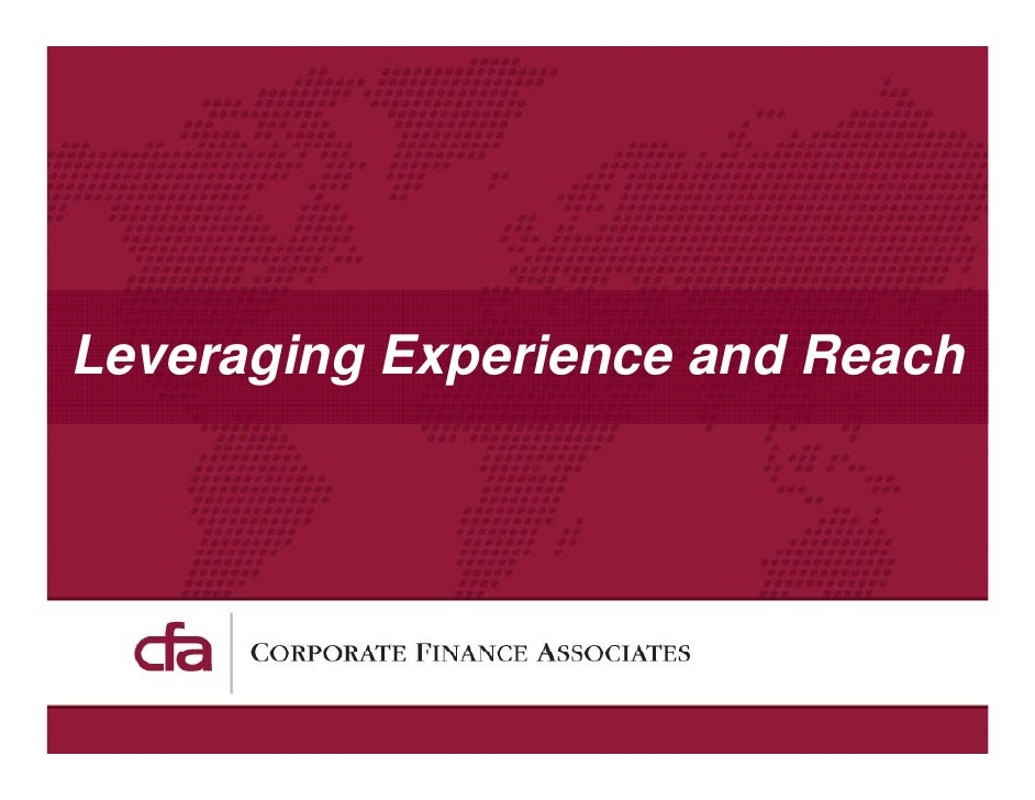 Leveraging Experience and Reach