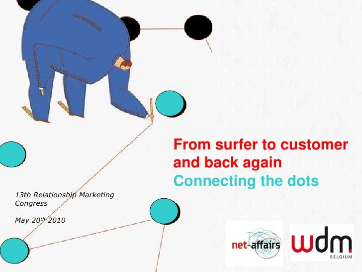 From surfer to customer                               and back again                               Connecting the dots 13t...