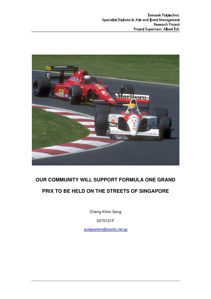 Feasibility Studies report for SGF1 - 26 Sep 2004