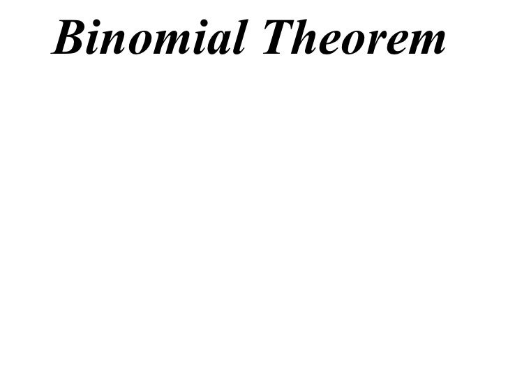 12X1 T08 01 binomial expansions
