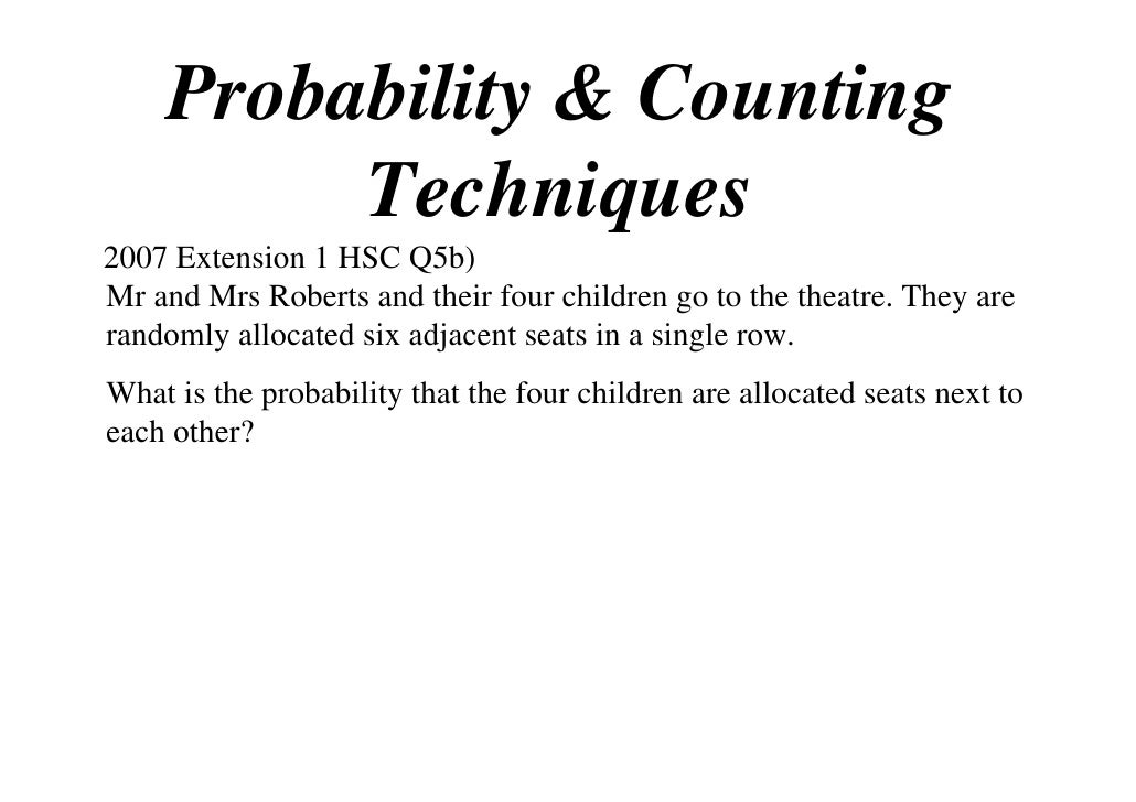 12X1 T09 06 probability & counting techniques