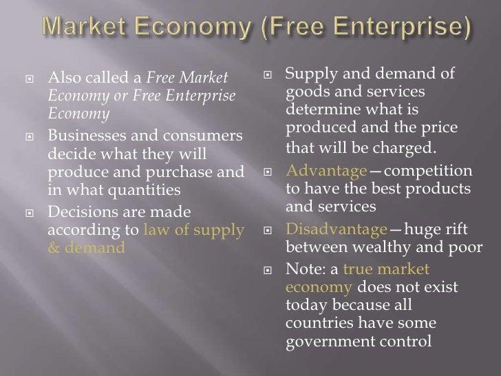 essay on market economy