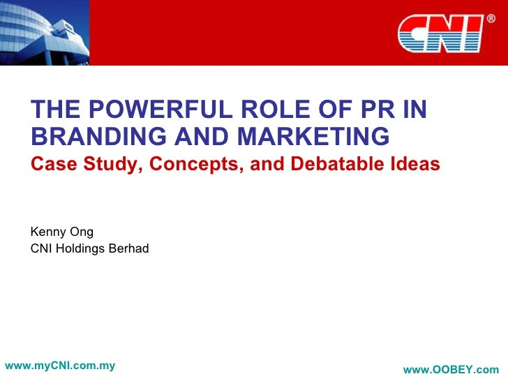 The Powerful Role of PR in Branding