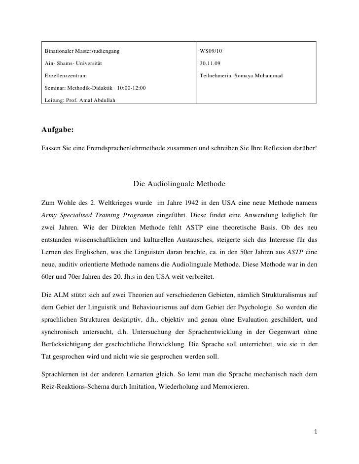 WS09/1030.11.09Teilnehmerin: Somaya MuhammadBinationaler MasterstudiengangAin- Shams- UniversitätExzellenzzentrumSeminar: ...
