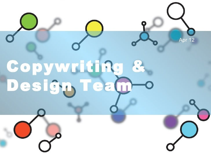 Copywriting & Design Team Apr 12