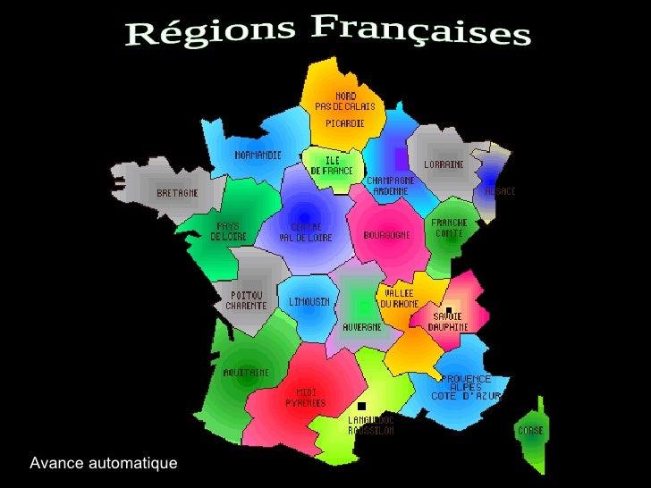 Régions Françaises Avance automatique