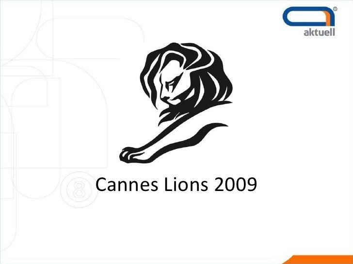 Cannes Lions 2009<br />