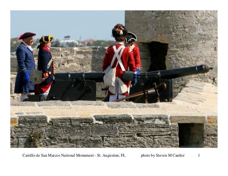 Castillo de San Marcos National Monument - St. Augustine, FL   photo by Steven M Cantler   1